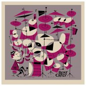 Beat Crazy Serigraph