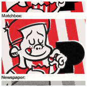 Examples of the Permanent Press Matchbook and Newspaper Presets - Read Full Review Here