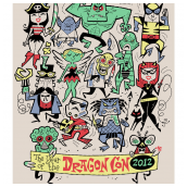 DragonCon 2012 Serigraph