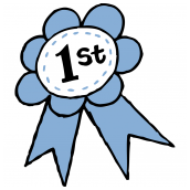 First Prize Ribbon