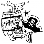 Pirates Rum BW