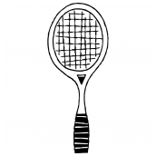 Tennis Racquet Bk