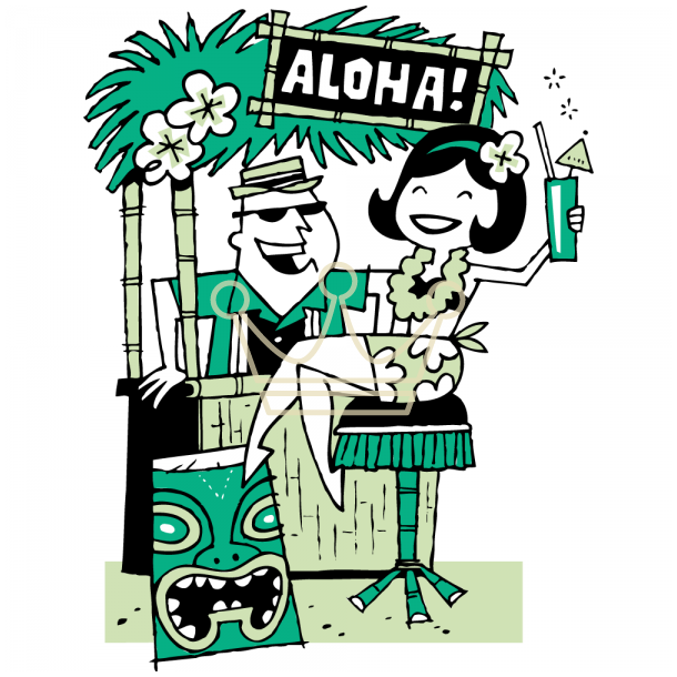 Tiki Bar Clip Art Pictures