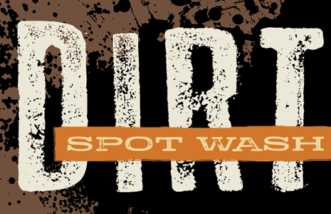 Spot Wash Dirt Image Filter for Photoshop