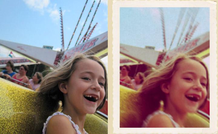 Print any photo as a polaroid: free template! - Decorator ... |Old Polaroid Photoshop