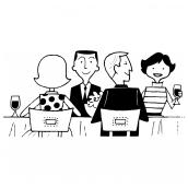 Dinner Friends Bk