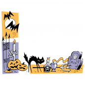 Halloween Border Two