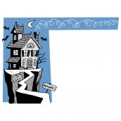Haunted House Border