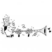 Horn Blower Bk