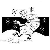 Ice Skater Bk