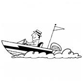 Motor Boat Bk