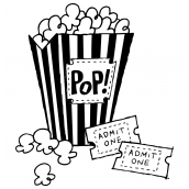 Movie Popcorn Bk