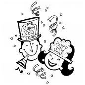 New Years Couple Bk
