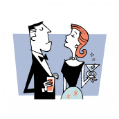 Snooty Couple