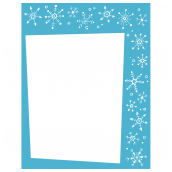 Snowflake Frame Two
