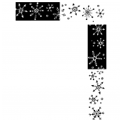 Snowflake Frame Two Bk