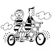 Tandem Bikers Bk