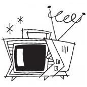 Television Set BW