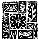 Tiki Pattern Bk