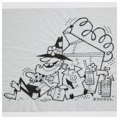 Hillbilly Ink Sketch