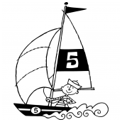 Sailboat Regatta Bk