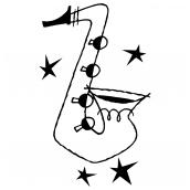 Saxophone BW