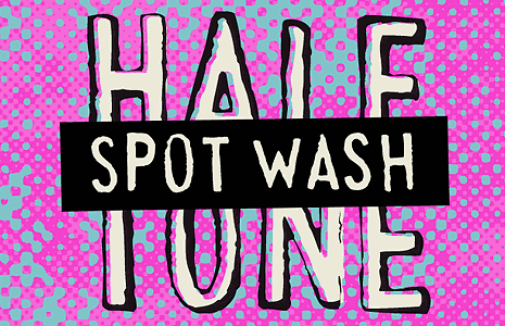 Spot Wash Halftone Image Filter for Photoshop