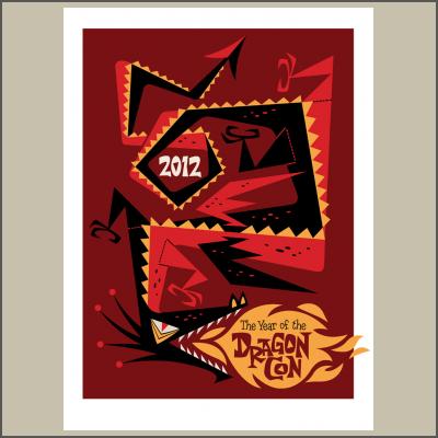 DragonCon Dragon Serigraph