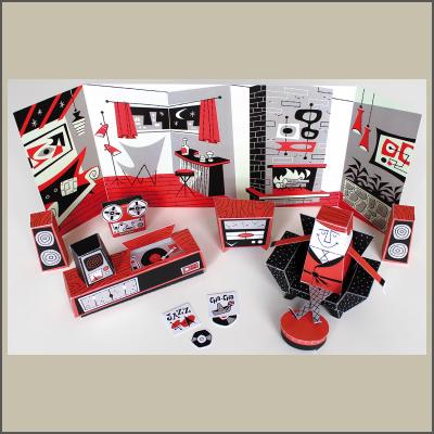 Hi-Fi Cut & Assemble Kit