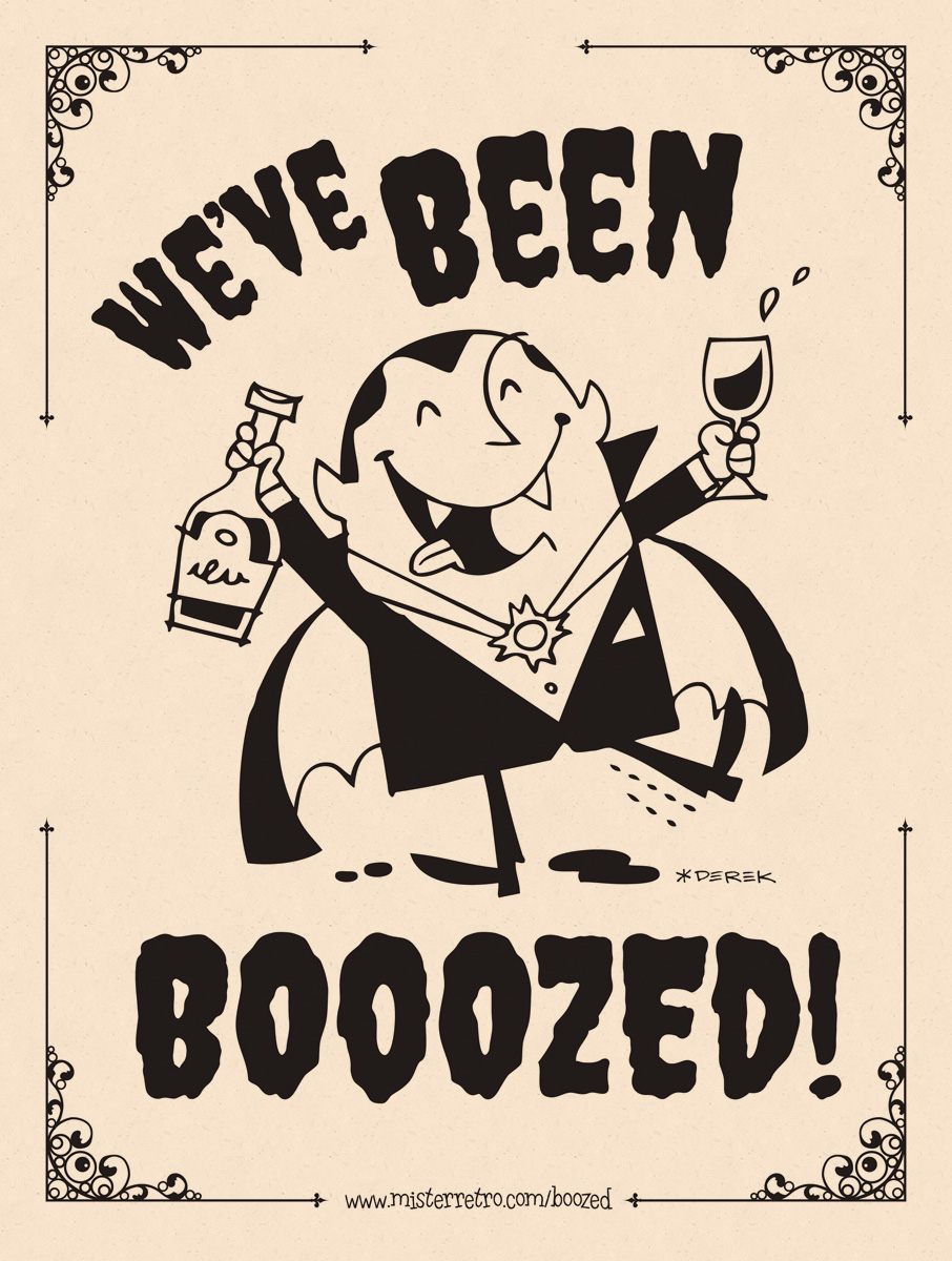 photograph regarding You've Been Boozed Printable known as Youve Been Boozed!