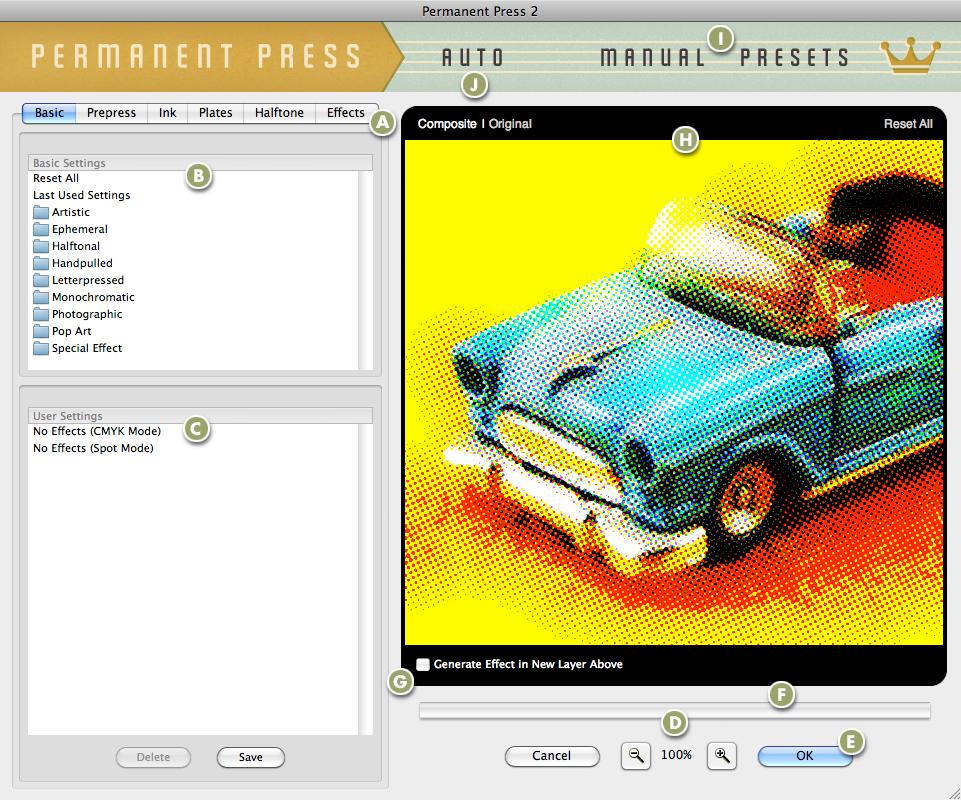 Mister Retro Permanent Press 2.0